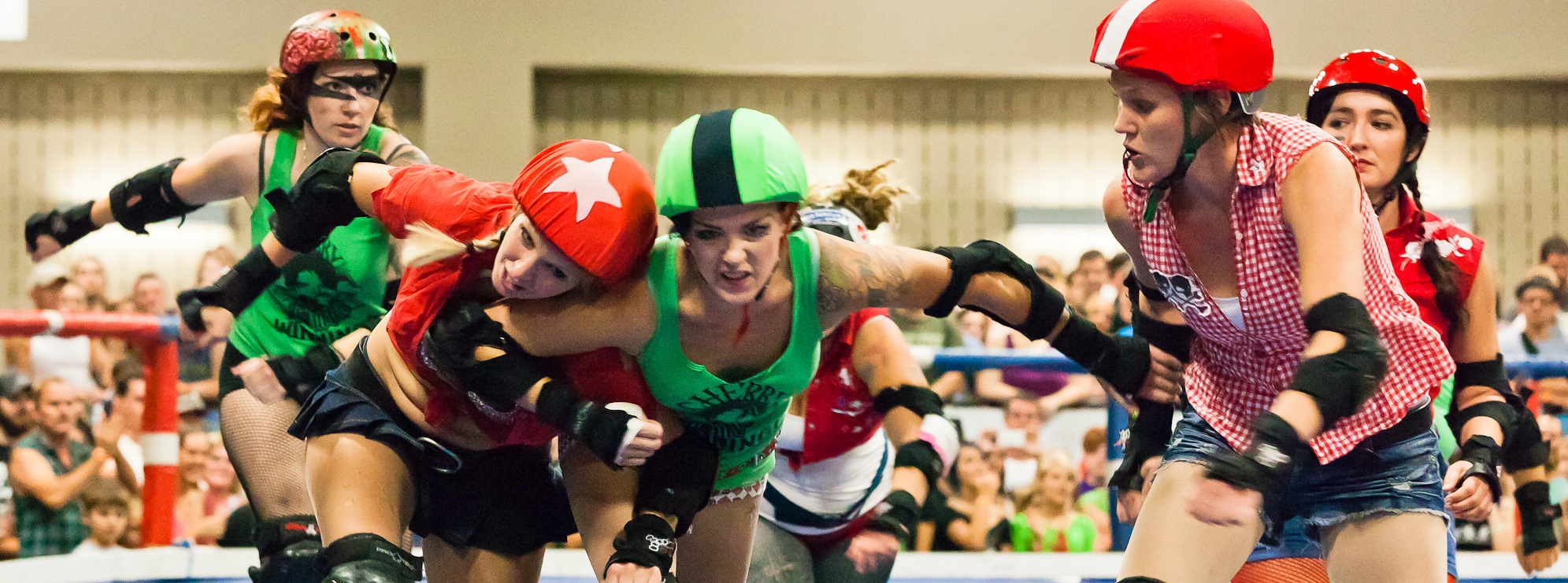 Roller derby photo essay